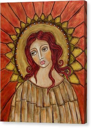 Angel Of Nature Canvas Print by Rain Ririn