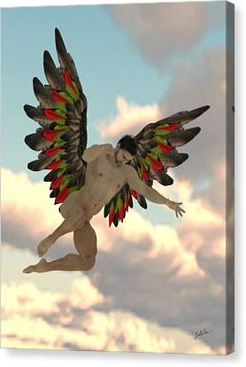 Angel Of The Party Canvas Print