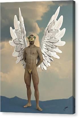 Seraphim Angel Canvas Print - Angel Of Women by Joaquin Abella