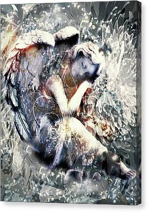Angel Of Your Dreams Canvas Print