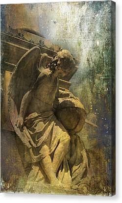 Angel On Watch Canvas Print