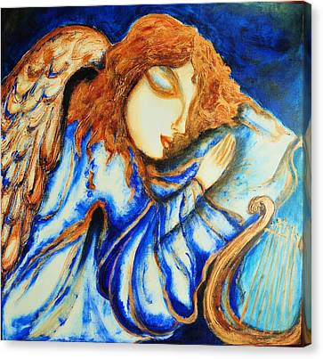 Angel Sleeping Canvas Print