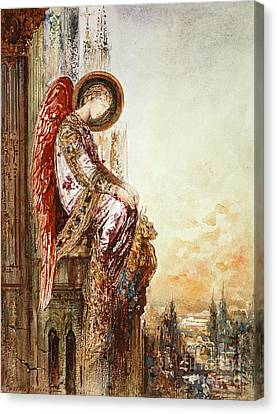 Traveller Canvas Print - Angel Traveller by Gustave Moreau