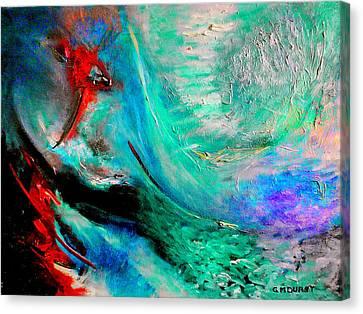 Angel Vortex Canvas Print by Michael Durst