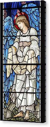 Saint Hope Canvas Print - Angel Window by Tim Gainey