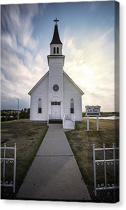 Angel Wing Canvas Print by Aaron J Groen