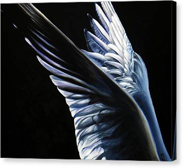 Angel Wings Canvas Print by Sun Sohovich