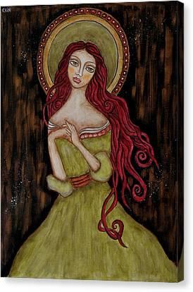 Angela Canvas Print by Rain Ririn