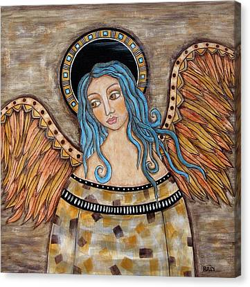 Angelica Canvas Print by Rain Ririn