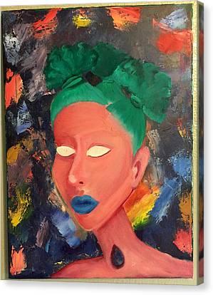 Angelika Canvas Print by LeAnna Moreno