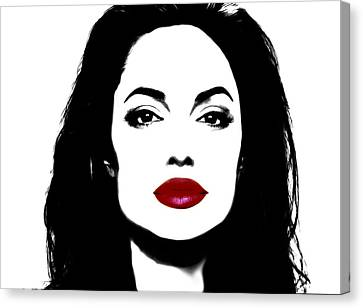 Angelina Jolie 3f Canvas Print