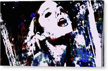 Angelina Jolie In The Moment Canvas Print