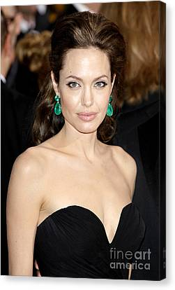 Angelina Jolie Canvas Print