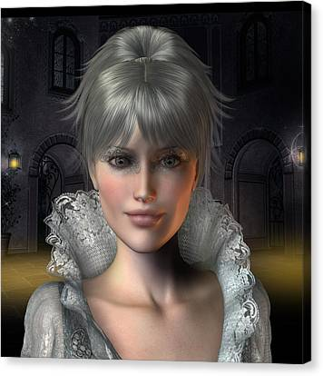 Angelique Canvas Print by David Griffith