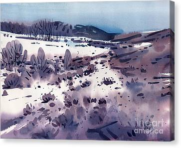 Foothills Canvas Print - Angel's Camp by Donald Maier