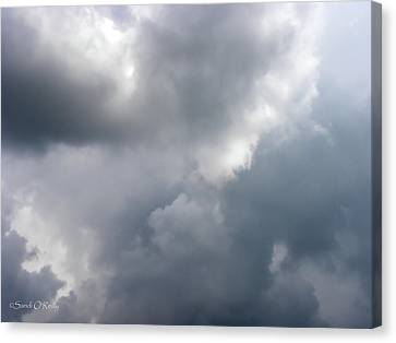 Canvas Print featuring the photograph Angels In The Sky by Sandi OReilly