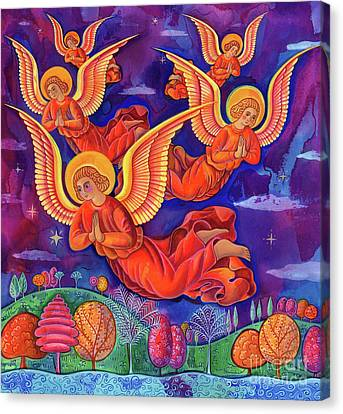 Angels Canvas Print by Jane Tattersfield