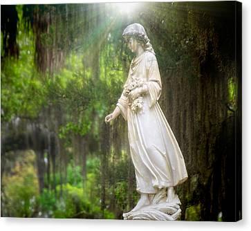 Angels Of Bonaventure Canvas Print by Mark Andrew Thomas