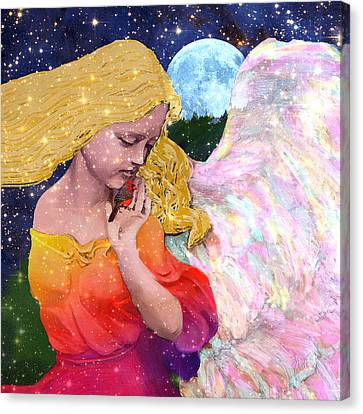Angels Protect The Innocents Canvas Print