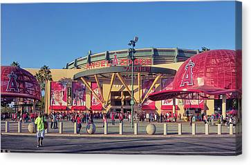 Angels Stadium Canvas Print