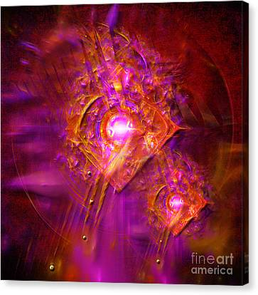 Angels Vibration Frequency  Canvas Print