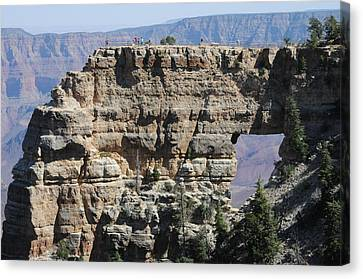 Angel's Window  -- North Rim Grand Canyon Canvas Print