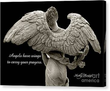 Angels Wings - Inspirational Angel Art Photos Canvas Print