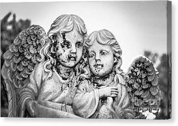 Angels With Dirty Faces Canvas Print