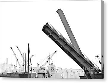 Canvas Print featuring the photograph Angle Of Approach by Stephen Mitchell
