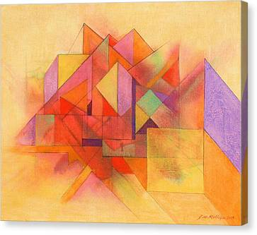 Angles 333 Canvas Print by J W Kelly
