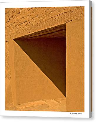 Canvas Print featuring the photograph Angles by R Thomas Berner