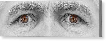 Angry Eyes Canvas Print by James BO  Insogna