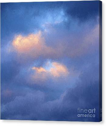 Angry Sky Over The Adirondacks Canvas Print by George Robinson