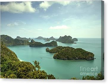 Angthong Canvas Print - Angthong Archipelago  by Rob Hawkins