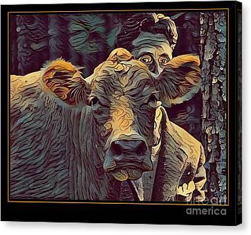Animal Charm No. 1 Canvas Print by Geordie Gardiner