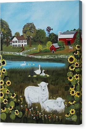 Animal Farm Canvas Print