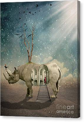 Animal House Canvas Print by Juli Scalzi