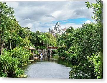 Expedition Everest Canvas Print