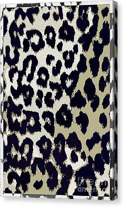 Animal Abstract Canvas Print - Animal Print  by Mindy Sommers
