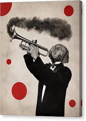 Animal18 Canvas Print by Francois Brumas