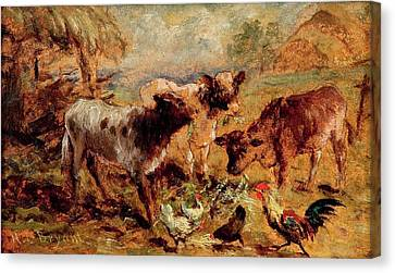 Henry Charles Bryant Canvas Print - Animals by Henry Charles