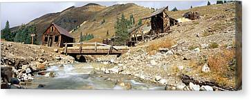 Animas Forks Ghost Town, Colorado Canvas Print by Panoramic Images
