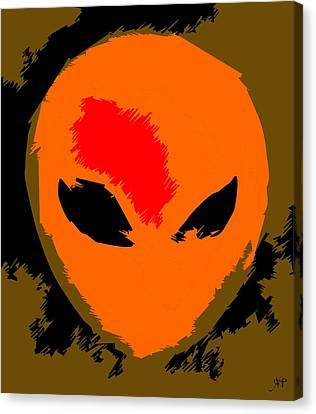 Anime Alien By Raphael Terra Canvas Print
