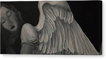 Anjo Canvas Print by Aline Siqueira