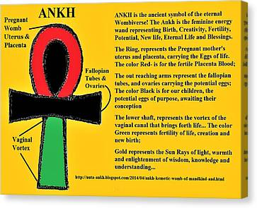 Ankh Meaning Canvas Print