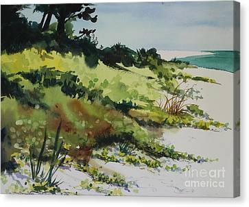Canvas Print - Anna Marie Island by Elizabeth Carr