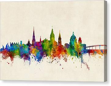Annapolis Maryland Skyline Canvas Print by Michael Tompsett