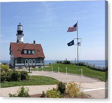 Portland Lighthouse ----- Edit Canvas Print