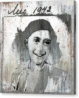 Anne Frank 2 Canvas Print