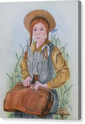 Anne Of Green Gables Canvas Print by Kelly Mills